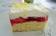 Frau Holle Kuchen 16 The Joy Of Baking, Baked Bakery, No Bake Cake, Vanilla Cake, Cake Recipes, Sweet Tooth, Cheesecake, Food Porn, Food And Drink