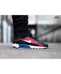 online store 48adf 832cb Nike Air Max 90 Ultra Superfly T Black White Dark Grey Trainer Black Dark,  Sneakers