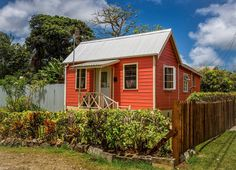 The lovely Bajan chattel house captured by John Gooding Photography.