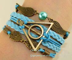 death holy implement bracelet owl bracelet big by Gogoparty, $4.99