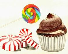 Wayne Thiebaud Candy Drawing Lesson