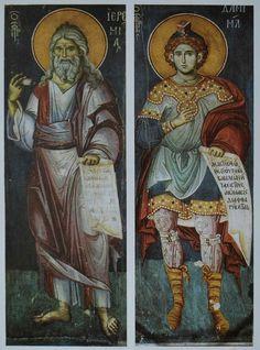 Byzantine Art, Byzantine Icons, Orthodox Icons, Fresco, Holi, Christ, Saints, History, Painting