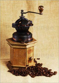 Alte Kaffeemühle Küchenbild
