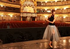 Click to see the animation!    Ekaterina Kondaurova at Mariinsky stage, Patrick Demarchelier photoshoot