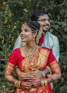 wedding Kerala Bride, Our Wedding, Sari, Fashion, Saree, Moda, Fashion Styles, Fasion, Saris