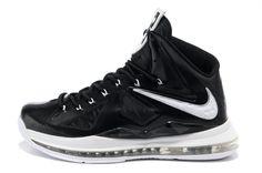 Lebron shoes 2013 Lebron 10 Black White Medal