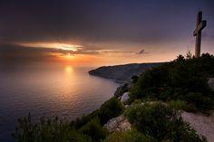 Sunset at Kampi, Zakynthos by doddie79, via Flickr