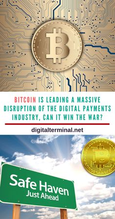 Bitcoin Is Leading A Massive Disruption Of The Digital Payments Industry, Can It Win The War? Investing In Cryptocurrency, Crypto Mining, Safe Haven, Leap Of Faith, Earn Money From Home, Crypto Currencies, Bitcoin Mining, Blockchain, Mindset