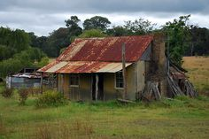 """""""Neglected"""" by Terry Everson Old Abandoned Buildings, Old Buildings, Abandoned Places, Highland Cow Painting, Old Barns, Country Barns, Colonial Cottage, Garden Tool Shed, Shed Homes"""