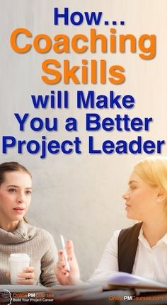 How Coaching Skills will make you a Better Project Leader. Coaching is a helpful approach to getting better performance from colleagues, and supporting their long-term professional development. It's therefore a valuable skill for project leaders. It will help you with day-to-day project delivery, and with developing team members over your whole project lifecycle.