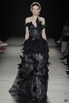 Raven dress (kinda reminds me of Coldhands) Laurence Xu Haute Couture  Fashion 2b57f7c28
