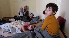 Greece struggles to help injured Syrian children
