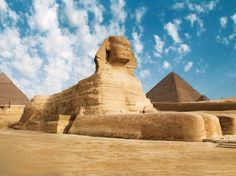 Pyramids in Egypt.