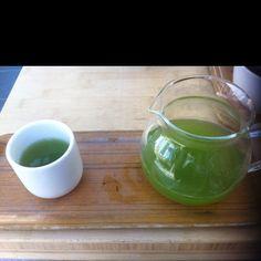 Green Ecstasy from Samovar Tea Lounge in San Francisco, CA.