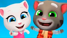 Talking Tom Gold Run Talking Angela Cars Ride Gameplay new update Subway Surfers, Baby Learning, Learning Colors, Pikachu, Toms, Watch, Youtube, Clocks
