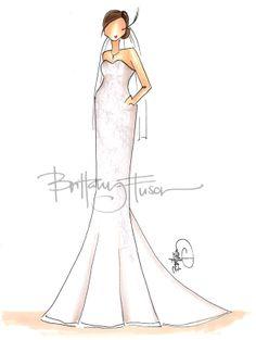 Brittany Fuson Paper: Custom Bridal Illustrations photo