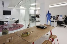 Day2 recently supplied furniture for this stunning new London studio for a leading architect's practice… although we can't take credit for the mannequin – nice touch.    Check our website at www.day2.co.uk for more information on our successful projects.