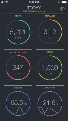 App Shopper: FitPort - Daily Activity, Health & Fitness Tracker App (Healthcare & Fitness)