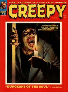 Cover for Creepy (Warren, 1964 series) #45  May 1972