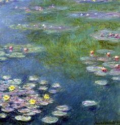 monet water lilies - Google Search