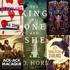 BookMattic: 6 Eclectic HIGH Fantasy and HARD Sci-Fi Titles You...