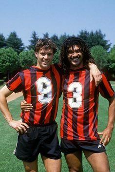 Marco van Basten et Ruud Gullit (AC Milan)