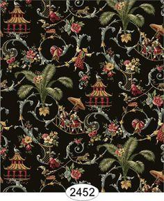 hand painted silk wallpaper - Google-søk