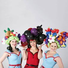 Book The Inflate-a-Belles and make your event stand-out - we are a booking agent for The Inflate-a-Belles. The Inflate-a-Belles are a sensational Balloon Modellers, find out more about hiring The Inflate-a-Belles & our award-winning service Balloon Modelling, Entertaining, London, Make It Yourself, Party, Events, Centre, Artist, Shopping