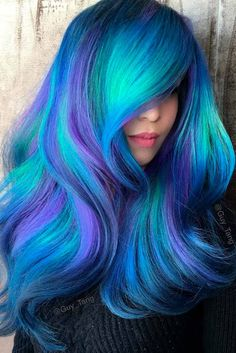 Geode Color on Long Hair picture3