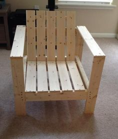 Simple Patio Chair