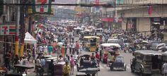 heavy traffic in the philippines | Manila Traffic