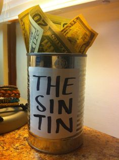 """evansrogerskitten: """" """" elcapitan-rogers: """" egobuzz: """" egobuzz: """" you've heard of the swear jar now get ready for the sin tin """" """" Everytime anyone talf about porn in group chat,. Shrek, Verona, The Wicked The Divine, Accel World, Wade Wilson, Mood, The Villain, A Team, Just In Case"""