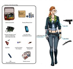 Spitfire - Streetwear (Shadowrun - Commission) by on DeviantArt Cyberpunk Rpg, Cyberpunk Character, Character Concept, Character Design, Character Bank, Concept Art, Shadowrun Rpg, Traditional Games, Sci Fi Art