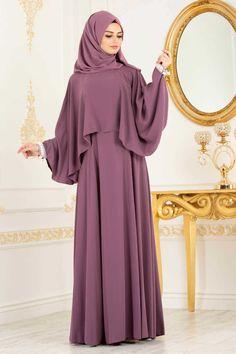 NEVA STYLE - DUSTY ROSE HIJAB EVENING DRESS 3627GK Hijab Evening Dress, Hijab Dress Party, Hijab Style Dress, Evening Dresses, Abaya Designs, Islamic Fashion, Muslim Fashion, Abaya Fashion, Fashion Dresses