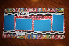 12 x 12 Disney Wonder Cruise premade by creationsbycindyg on Etsy