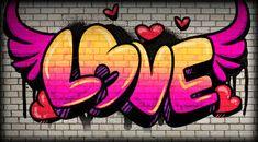 LOVE IS IN THE GRAFFITI