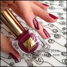 Brand: Estee Lauder // Collection: Pure Color Envy 2014 Spring and Summer // Color: Insolent Plum // Blog: imabeautygeek (Karen Falcon)