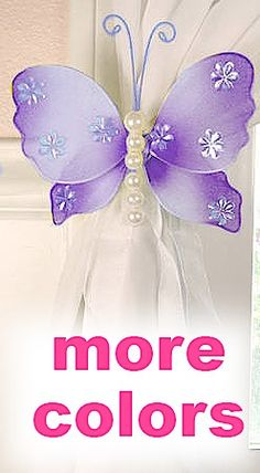 Isabella style purple butterflies... ridiculously perfect for my Isabella...