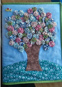 Flower Embroidery Designs, Free Machine Embroidery Designs, Applique Patterns, Miniature Quilts, Miniature Crafts, Small Sewing Projects, Sewing Projects For Beginners, Quilting Projects, Quilting Designs