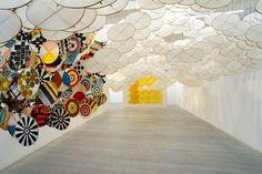 art-Corpus: Avis de Jacob Hashimoto: L'Autre Soleil à Ronchini Galerie
