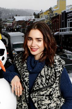 Lily Collins attended the IMDb Studio - Sundance Film Festival for her upcoming film To The Bone on January 21, 2017.