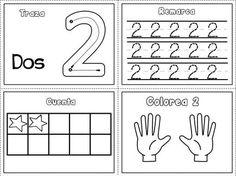 Grafomotricidad números del 1 al 10 (2)