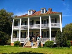 Hopsewee Plantation is located along the North Santee River in Georgetown, SC. Earliest known date of existence is 1730s. The home is privately owned and open to the public for tours.