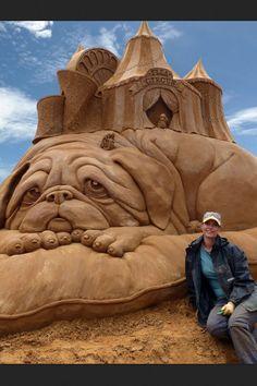 Incredible Sand Art.  jj