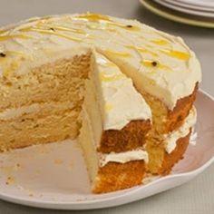 In en om die huis: Granadilla butter cake Baking Recipes, Cake Recipes, Dessert Recipes, Muffin Recipes, Cake Icing, Cupcake Cakes, Cupcakes, Pudding Cake, Moist Cakes
