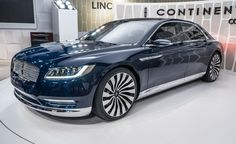 Lincoln Continental Concept: It's Already Headed for Production - Photo Gallery of from Car and Driver - Car Images - Car and Driver - Car and Driver