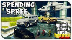 GTA 5 Heist Online - MASSIVE $10,000,000 SPENDING SPREE! Buying All New ...