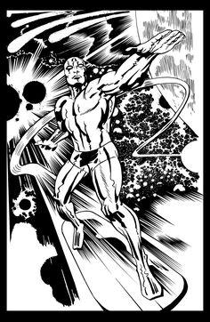 Jack Kirby Silver Surfer.... by Mistah--Jay on DeviantArt