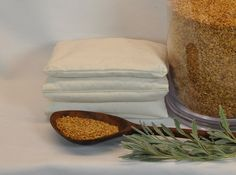 Flax Seed Hot/Cold Therapy Pillows / Scented / Unscented by RainieGarden on Etsy
