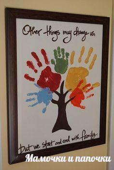 Чудесное дерево - творчество для всей семьи!